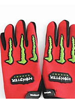 Knight Gloves Motorcycle Gloves Full Finger Gloves Off-Road Bicycle Racing Ghost Hand Gloves Universal
