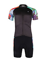 PALADIN® Cycling Jersey with Shorts Men's Short Sleeve BikeBreathable / Quick Dry / Ultraviolet Resistant / Reduces Chafing /
