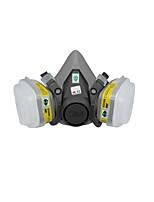 máscaras de gas industrial (6200 + 6002 de siete conjuntos (Talla: M))