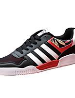 Красный / Серый / Оранжевый-Мужской-На каждый день-Полиуретан-На плоской подошве-Удобная обувь-На плокой подошве