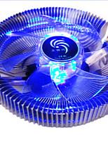 полюс ветра Poseidon с огнями центрального процессора вентилятора радиатора 1155 AMD / Intel 775 платформы