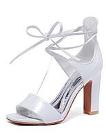 Women's Heels Summer Heels PU Casual Chunky Heel Others Black / Pink / White