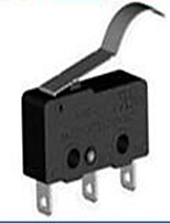 cambiar de instrumento de medición física de plástico de color negro material de cinco paquete