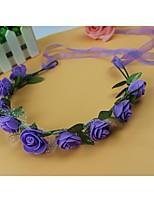 Women's Foam Headpiece-Wedding Wreaths 1 PieceFlower 50CM
