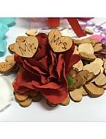 Confettis & Serpentins / Déco de Mariage Unique / Bannières & Banderoles / Décoration en Papier(Marron,Bois)Plage / Jardin / Fleuri /