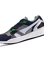 Women's Shoes Tulle Spring / Fall Comfort Sneakers Athletic Flat Heel Lace-up Black / Blue / Green / Red / White