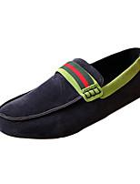 Heren Loafers & Slip-Ons Lente / Zomer Comfortabel / Mocassin Synthetisch Informeel Platte hak Instappers Zwart / Blauw / Grijs Wandelen