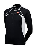 Deportes Bicicleta/Ciclismo Tops Mujer Mangas largas Transpirable / Cremallera delantera / Listo para vestir / Tejido Ultra Ligero