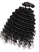 3 Pièces Ondulation profonde Tissages de cheveux humains Cheveux Péruviens Tissages de cheveux humains Ondulation profonde