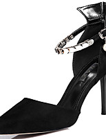 Women's Shoes Fur Spring/Summer/Fall/Winter Heels Heels Wedding/Party & Evening/Casual Stiletto Heel Tassel Black/Red