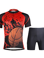 PaladinSport Men  Cycyling Jersey + Shorts Suit DT691 Basketball