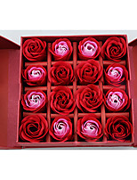 Baño y Jabón(Rojo / Rosado / Azul) -Tema Clásico-No personalizado 16.5*16.5*5.5 Ingredientes 100% naturales