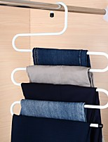 Practical Multi-Purpose 5 Layers Pants Hanger Trousers Tie Rack Space Saving
