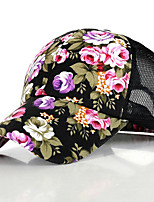 Small Floral Mesh Cap Baseball Cap Sun visor Cap