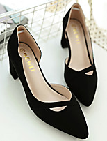 Women's Sandals Spring / Summer / Fall Sandals Fleece Casual Chunky Heel Others Black / Pink / Gray Others