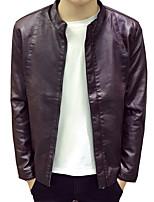 Spring and autumn clothing male locomotive jacket men Korean teenagers fashion coat