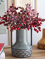 Hi-Q 1Pc Decorative Flower Olives Wedding Home Table Decoration Artificial Flowers
