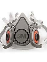 3m6200 doble de auriculares de goma respiradores cartucho de filtro de polvo de media careta
