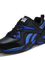 Unisex Sneakers Spring / Fall Comfort PU Casual Flat Heel  Blue / Black and Red / Black and White Walking