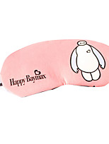 Multicolor Cotton Cartoon To Light Eyeshade Sleep Game Ice Compress Patch (Random Delivery)