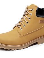 Unissex-Botas-par sapatosPreto Café Verde Castanho Claro-Sintético-Ar-Livre Escritório & Trabalho Casual Para Esporte Work & Safety