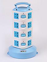 Multifunction Smart Vertical Socket Multi-Outlet Power Strip Wiring Board