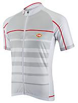 Sportivo® Maglia da ciclismo Per uomo Maniche corteTraspirante / Asciugatura rapida / Zip anteriore / Comodo / Sfregamento ridotto /