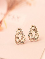 Earring Others Stud Earrings Jewelry Women Fashion Daily / Casual Alloy 1 pair Gold