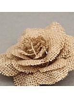 Jute Décorations de Mariage-1piece / Set Fleur Artificielle Mariage / Anniversaire Jardin Marron Printemps Non PersonnaliséCouleurs