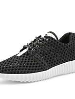 Women's Sneakers Spring / Summer / Fall / Winter Round Toe / Flats Tulle Outdoor / Office & Career