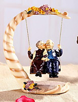 Birthday Gift Granny Old Man Swinging Ornaments for Parents Elders (Meddle Size)