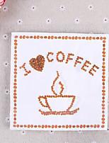 100% virgin pulp 20pcs I love Coffee Wedding Napkins
