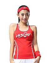 Carrera Tank Tops Mujer Sin Mangas Transpirable / Secado rápido / Compresión / Reductor del Sudor Poliéster / Elastán Running Deportes