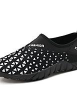 Unisex-Loafers & Slip-Ons-Lässig-Stoff-Flacher Absatz-Komfort-Schwarz / Blau / Grau