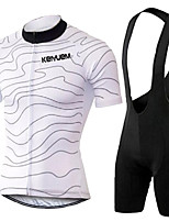 KEIYUEM® Summer Cycling Jersey Short Sleeves + BIB Shorts Ropa Ciclismo Cycling Clothing Suits #K117