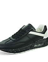 Men's Shoes Outdoor Fashion Sports Shoes Leisure Microfiber Fabric Shoes Green / White / BlacK