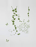 Wall Stickers Wall Decals Style Romantic Vine Rattan PVC Wall Stickers