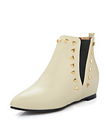 Women's Boots Fall / Winter Fashion Boots Dress Wedge Heel Others Black / Gray / Beige Walking