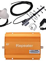 золото gsm980 900MHz повторитель сигнала мобильного телефона бустер усилитель + комплект антенны