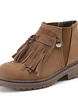 Women's Shoes Fashion Boots / Combat Boots / Round Toe Boots Office & Career / Dress / Casual Platform Buckle / Gore