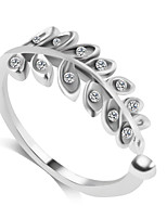 Ring Fashion Wedding / Party / Daily / Casual Jewelry Alloy Women Band Rings 1pc,6 / 7 / 8 / 9 Silver