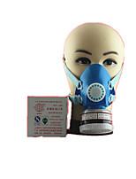 solo tanque de filtro antivirus ensimismamiento respiradores activado el seguro máscaras de carbono de trabajo