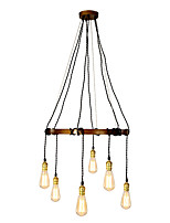 American Country Vintage Loft DIY Pendant Lights Metal Living Room Cafe Restaurant Kitchen Light Fixture