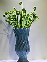 1pc 1 Une succursale Polyester Plantes Fleur de Table Fleurs artificielles 18.89inch/48CM