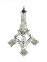 Jigsaw Puzzles 3D Puzzles Building Blocks DIY Toys Famous buildings 1 Metal Silver Novelty Toy