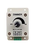 interrupteur lumières LED gradateur pour bande LED ou lampe led (dc 12-24v 8a)
