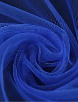хлопок твердой ткани одежды ткани&обрезает Темно-синий 1 двор
