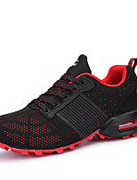 Men's Sneakers Spring / Fall Comfort Tulle Casual Flat Heel  Black / Blue / Red Running