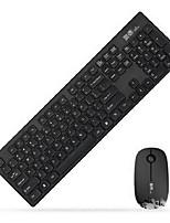 Fuld G9300 Wireless Keyboard Suit Ultra-Thin Silent Keyboard Suite Desktop Notebook Suite Pink