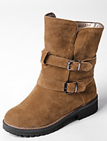 Women's Boots Fall / Winter Fashion Boots Dress Chunky Heel Others Black / Gray / Camel Walking